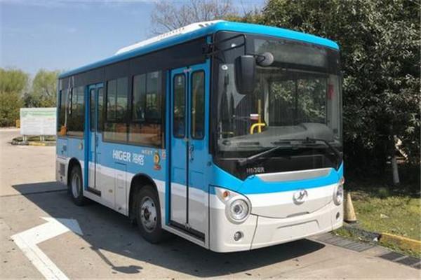 海格KLQ6605GEVN2公交车(纯电动10-17座)