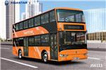 亚星JS6111SHBEV双层公交车(纯电动30-61座)