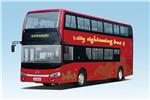 金龙XMQ6112SGBEVM双层公交车(纯电动34-63座)
