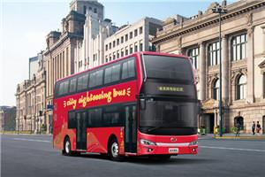 金龙XMQ6112双层公交车