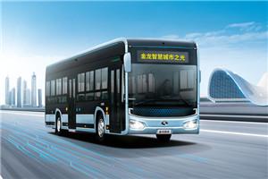 金龙智慧城市之光XMQ6125公交车