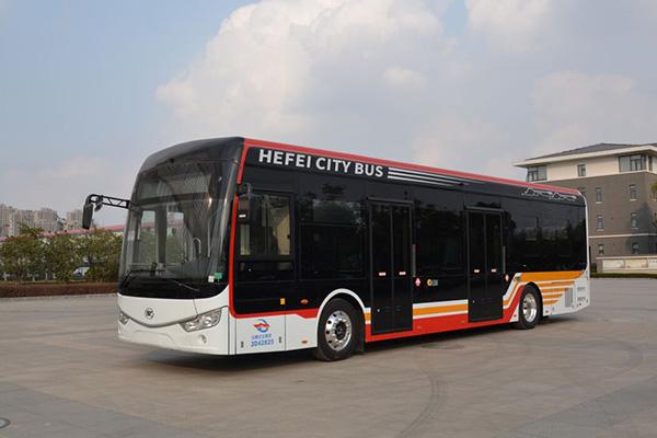 安凯HFF6129G03EV12低地板公交车(纯电动20-46座)