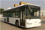 金龙XMQ6106AGBEVM3公交车(纯电动19-40座)