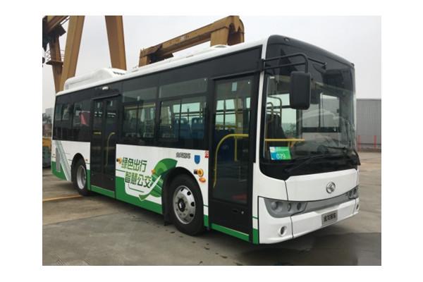 金龙XMQ6850AGCHEVD55插电式公交车(柴油/电混动国五15-30座)