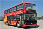 南京金龙NJL6129GSEV1双层公交车(纯电动25-71座)