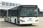 南京金龙NJL6180EV铰接低入口公交车(纯电动32-52座)
