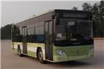 福田欧辉BJ6105CHEVCA-9插电式公交车(天然气/电混动国五18-36座)