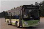 福田欧辉BJ6105PHEVCA-19插电式公交车(天然气/电混动国五18-36座)