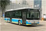 福田欧辉BJ6123SHEVCA-7插电式公交车(天然气/电混动国六21-42座)