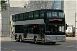 福田欧辉BJ6128SHEVCA-3插电式双层公交车(天然气/电混动国五38-68座)