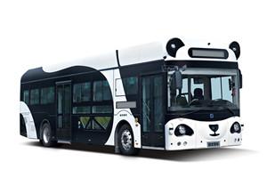 申龙SLK6123自动驾驶公交车