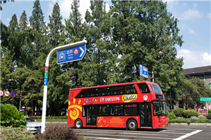 开沃G10系列NJL6100双层公交车