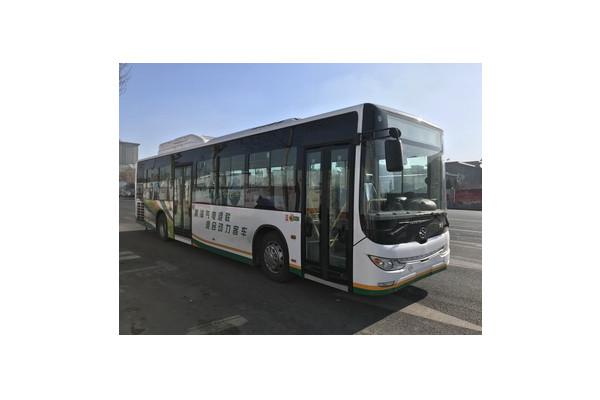 黄海DD6129CHEV11N插电式公交车(天然气/电混动国五21-46座)