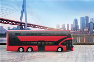 宇通E12DD双层公交车