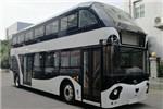 蜀都CDK6110CSBEV双层公交车(纯电动29-69座)