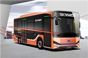 开沃NJL6859公交车