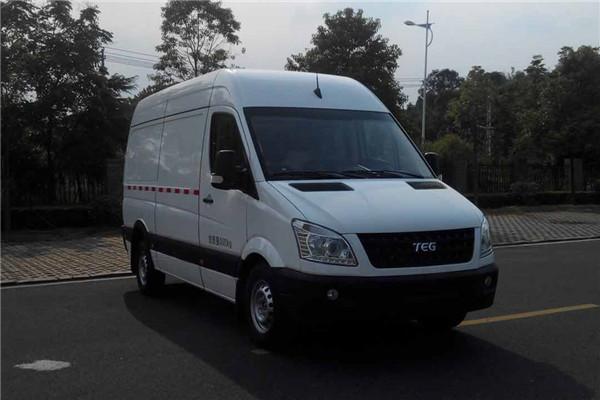 中车电动TEG5050XXYEV01厢式运输车(纯电动3座)