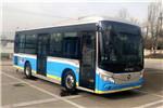 福田欧辉BJ6855SHEVCA-1插电式公交车(天然气/电混动国六15-24座)