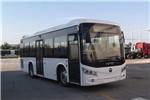福田欧辉BJ6905CHEVCA-12插电式公交车(天然气/电混动国五17-27座)