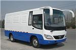 少林SLG5060XXYT5F厢式运输车(天然气国五2-6座)
