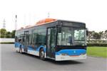 豪沃ZZ6126GPHEVN6Q插电式公交车(天然气/电混动国六21-40座)