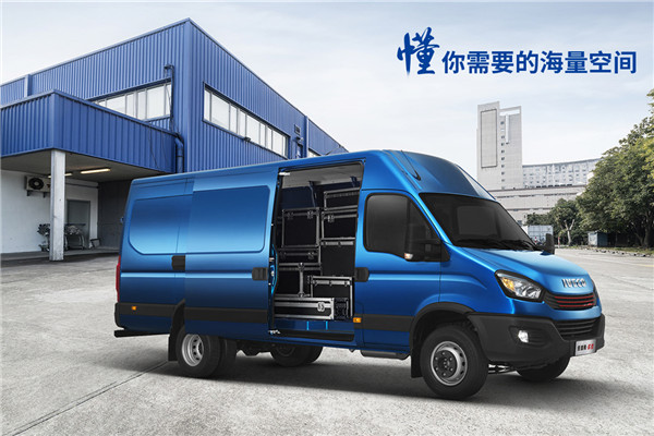 南京依维柯NJ5045XXYEQSE厢式运输车(柴油国五2-6座)