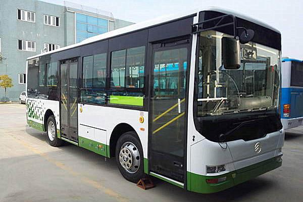 金旅XML6855JHEVL5C插电式公交车(柴油/电混动国五15-31座)