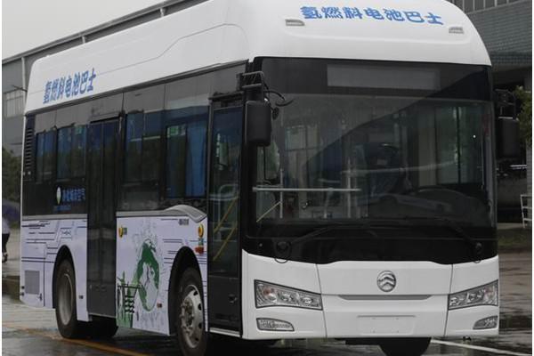 金旅XML6855JFCEV10C公交车(氢燃料电池16-29座)