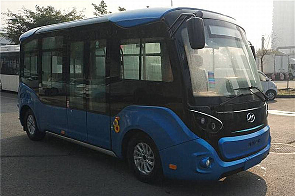 海格KLQ6606GAEVJL低入口公交车(纯电动10-14座)