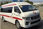 海格KLQ5040XJHE5A救护车(柴油国五4-9座)