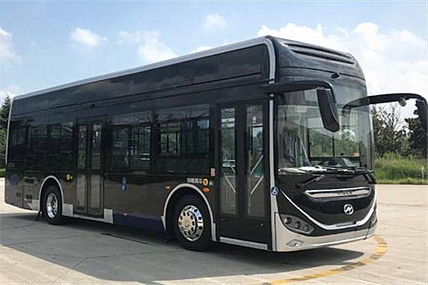 海格KLQ6106GAFCEV1低入口公交车(氢燃料电池21-38座)