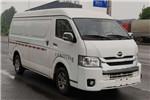 海格KLQ5041XXYBEV7厢式运输车(纯电动2座)