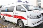 海格KLQ5030XJHQ5救护车(汽油国五3-7座)