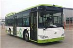 金龙XMQ6106AGCHEVN512插电式公交车(天然气/电混动国五19-40座)