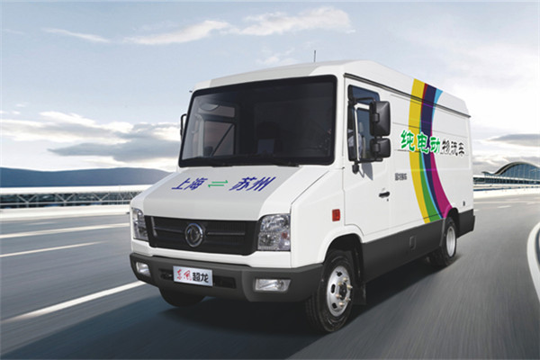 东风超龙EQ5040XXYTBEV3厢式运输车(纯电动2-3座)