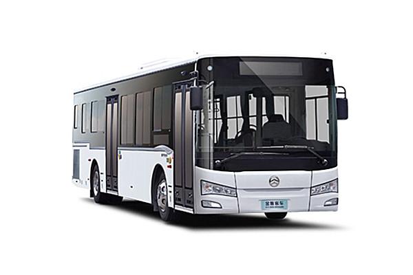 金旅XML6125JHEVG5CN6插电式公交车(天然气/电混动国五22-41座)