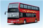 金龙XMQ6108SGBEVL双层公交车(纯电动33-65座)