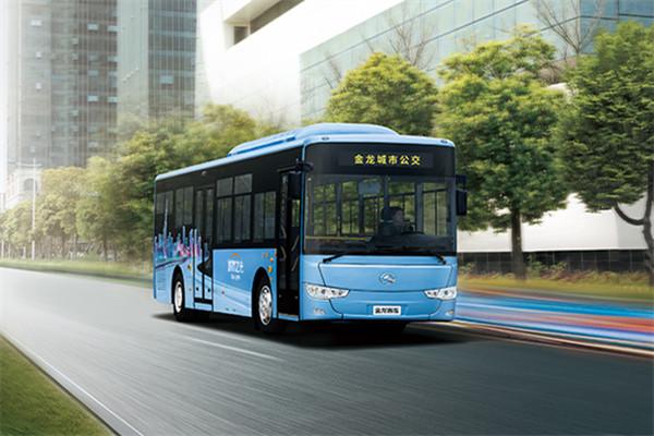 金龙XMQ6119AGCHEVN54公交车(天然气/电混动国五10-46座)