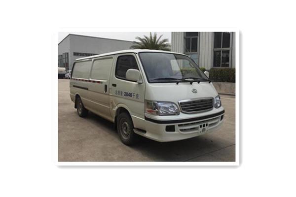 金龙XMQ5030XXYBEVL03厢式运输车(纯电动1-2座)