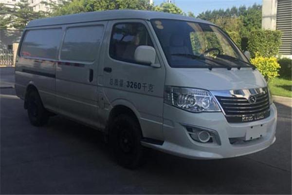 金龙XMQ5030XXYBEVL04厢式运输车(纯电动2座)