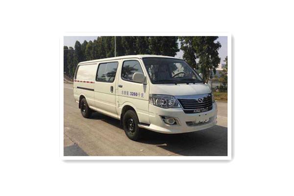 金龙XMQ5030XXYBEVL02厢式运输车(纯电动5座)