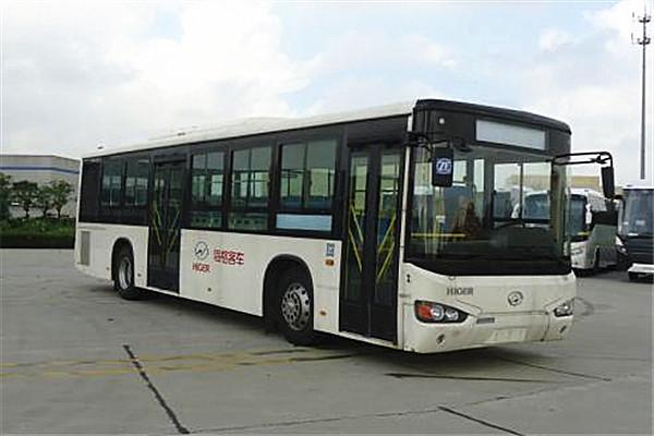 海格KLQ6119GAHEVC5B公交车(天然气/电混动国五24-46座)