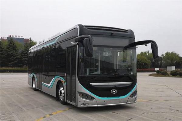 海格KLQ6106GAEVN8低入口公交车(纯电动21-36座)