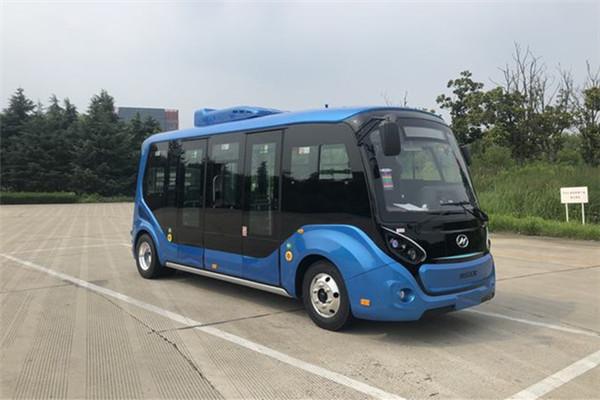 海格KLQ6656GAEVN1低入口公交车(纯电动10-13座)