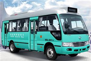 海格KLQ6702公交车