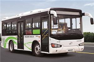 海格KLQ6825公交车