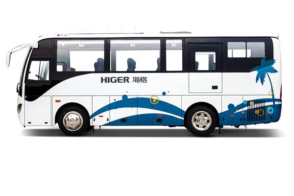 海格KLQ6902KAHEVE51E客车(柴油/电混动国五24-41座)