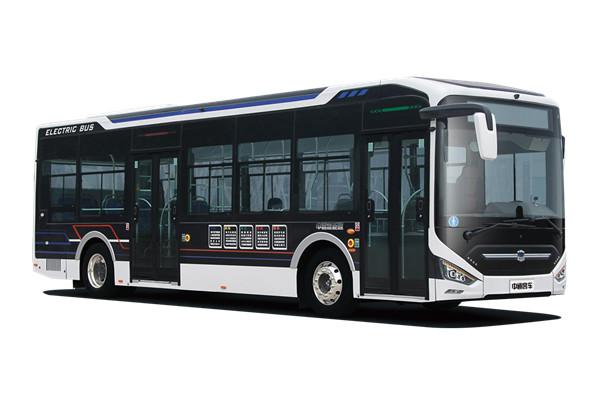 中通LCK6126EVGRL低入口公交车(纯电动22-46座)