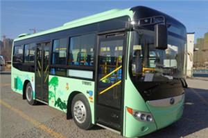 宇通ZK6775公交车
