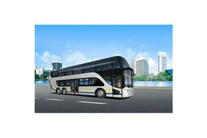 亚星JS6130双层公交车